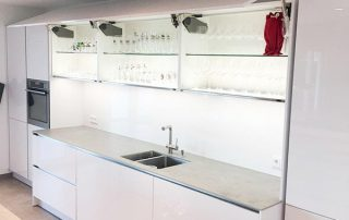 Moderne Inselküche der Familie Thelen, Bochum