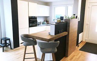 Moderne Einbauküche der Familie Perchthold, Bochum