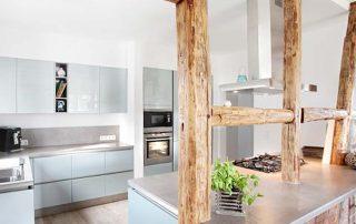 Küche im Fachwerkhaus der Familie De Torres, Witten