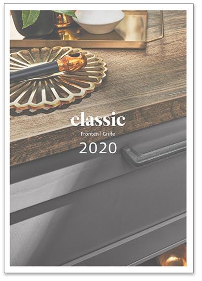 """Flipbook Häcker """"Classic 2020 - Fronten / Griffe"""""""