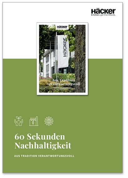 """Flipbook Häcker """"60 Sekunden Nachhaltigkeit"""""""