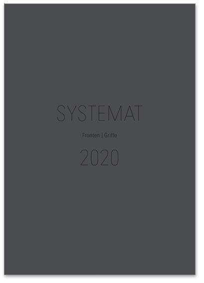 "Flipbook Häcker ""Systemat 2020 - Fronten / Griffe"""