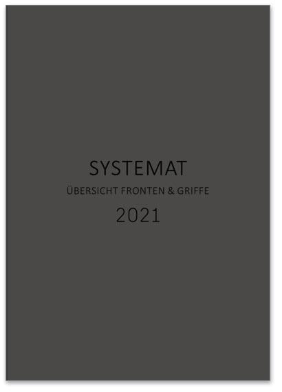 "Flipbook Häcker ""Systemat 2021 - Fronten / Griffe"""