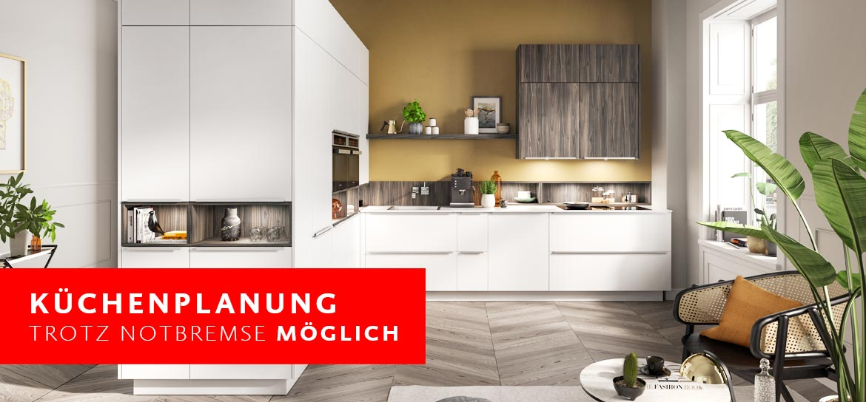 Küchenplanung trotz Notbremse möglich